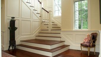Milton: new home; shingle style