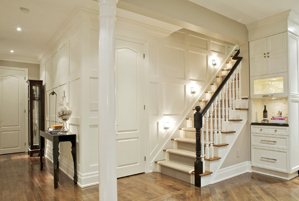 Contemporary Staircase by Gabriele Pizzale Design Inc.