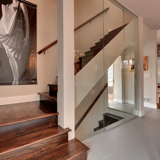 Moderne Treppe in Minneapolis