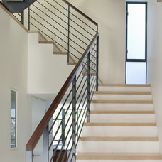 Modern Staircase by Levy Art & Architecture