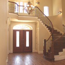 Traditional Staircase by Summit Stairs & Millwork