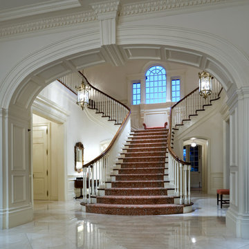 Mississippi Valley Plantation House in Greek Revival Style