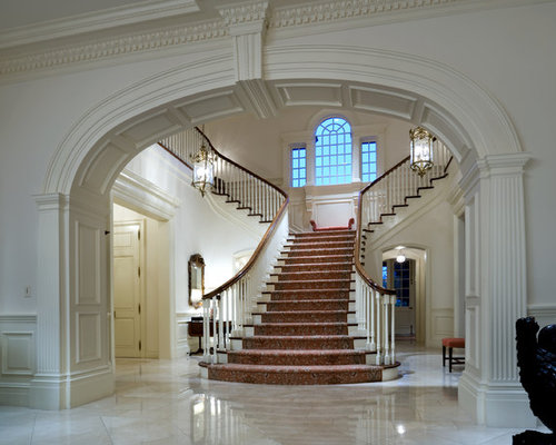 Foyer Architecture Quiz : Grand staircase houzz
