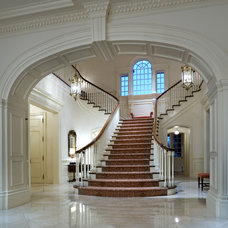Traditional Staircase by Richard Drummond Davis Architects