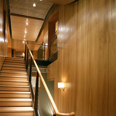 Modern Staircase by Poss Architecture + Planning + Interior Design