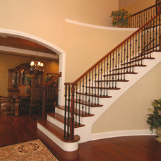 Traditional Staircase by MJG Construction, LLC