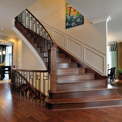 contemporary staircase by Prestige Metal