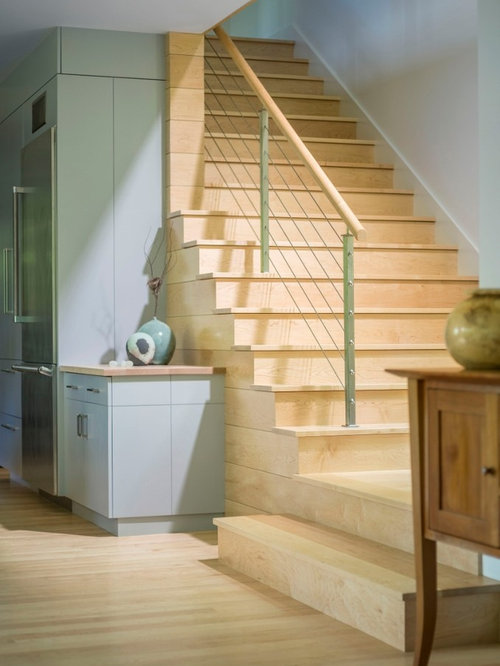 Transitional Staircase Ideas Designs Amp Remodel Photos Houzz