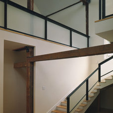 Modern Staircase by David Griffin Interior Design