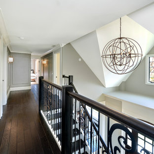Staircase - transitional staircase idea in Chicago