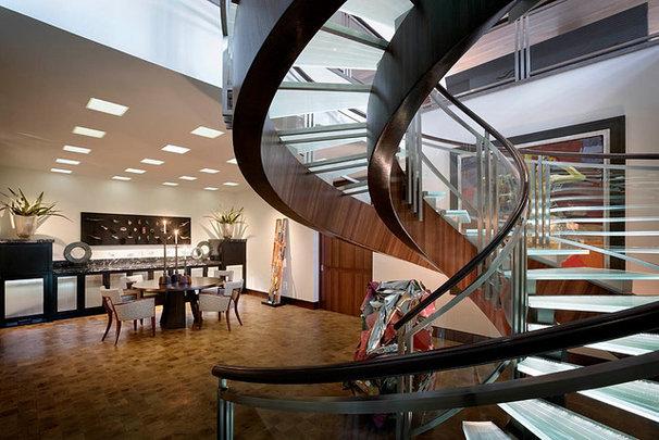 Contemporary Staircase by Harte Brownlee & Associates Interior Design