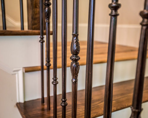 Oil Rubbed Bronze Baluster Home Design Ideas Pictures