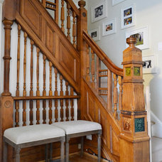Eclectic Staircase by JMorris Design