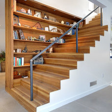 Contemporary Staircase by Farrow Arcaro Design
