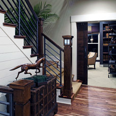 traditional staircase by Curt Hofer & Associates