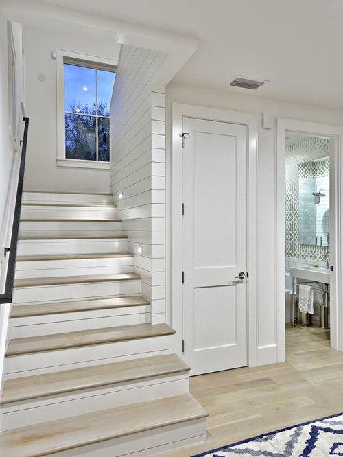 25 Best Farmhouse Staircase Ideas & Decoration Pictures   Houzz