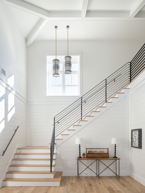 Closed To Open Staircase Remodel