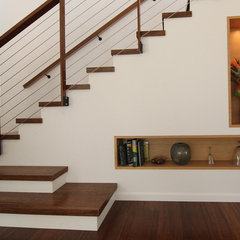 modern staircase by Wildco Construction Inc