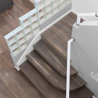 Modern Home: Custom Colored and Oiled White Oak Floors