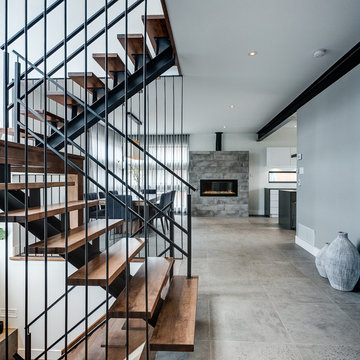 Modern Home in Montreal