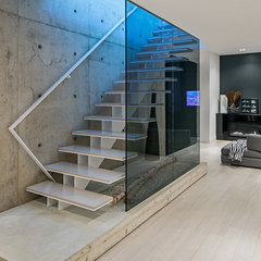 modern staircase by Peter A. Sellar - Architectural Photographer