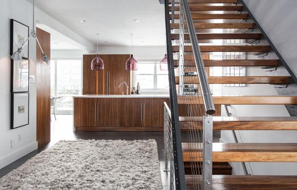 Contemporary Staircase by Becki Peckham