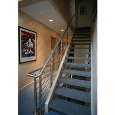 Contemporary Staircase by Heidi Hornaday, Architect, P.C.