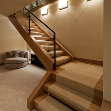 Modern Staircase by Splittgerber Professional Builders