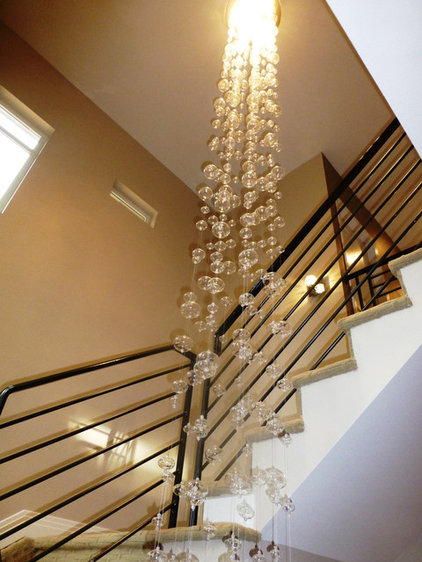Contemporary Staircase by RE.DZINE