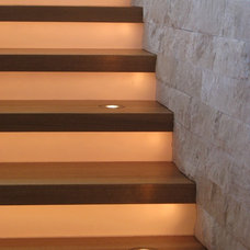 Modern Staircase by 186 Lighting Design Group - Gregg Mackell