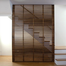 Modern Staircase by 2 Point Perspective