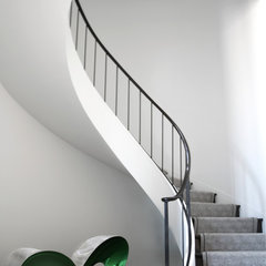 modern staircase by Butler Armsden Architects