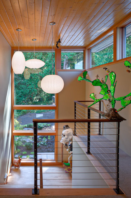 Modern Staircase by Coates Design Architects Seattle