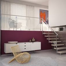 Modern Staircase by European Cabinets & Design Studios