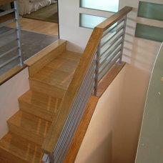 Modern Staircase by Howard Hvid