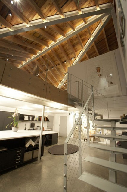 Modern Staircase by Architecture in Formation, P.C.