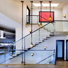 Contemporary Staircase by Jeremy Harnish Designer Finishes