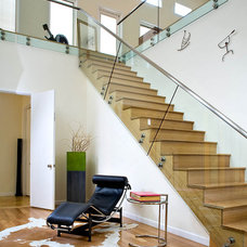 contemporary staircase by KuDa Photography