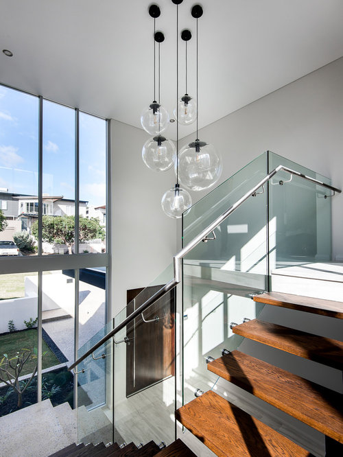 Large Modern Staircase In Perth.