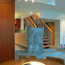 Modern Staircase by Stephen Dalton Architects