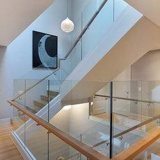 Modern Staircase by Bruce Johnson & Associates Interior Design