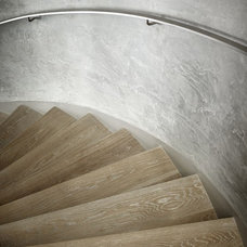 Contemporary Staircase by Risinger Homes