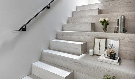 Просто фото: Лестницы со «сбитым шагом» — 18 нестандартных идей