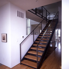 Contemporary Staircase by Demerly Architects