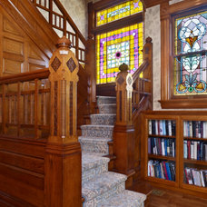 Traditional Staircase by Ekman Design Studio