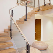 Contemporary Staircase by Maienza - Wilson Interior Design + Architecture