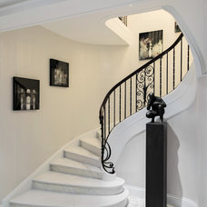 Contemporary Staircase by Britto Charette LLC - NYC Interiors