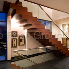 Contemporary Staircase by Richard Laney