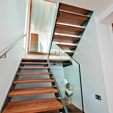 Contemporary Staircase by Warwick Avenue