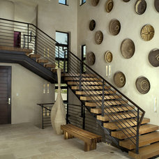 Modern Staircase by Slifer Designs